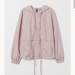 Powder Pink Hooded Jacket